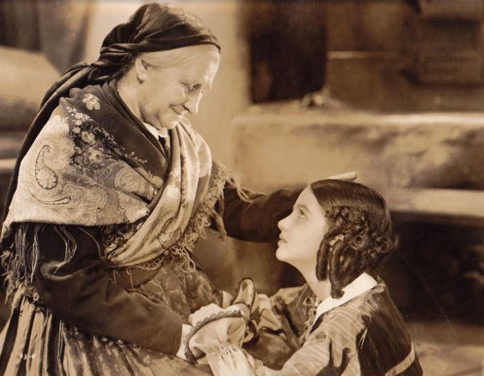 S Natašou Tanskou ve slavném filmovém zpracování románu Boženy Němcové Babička z roku 1940