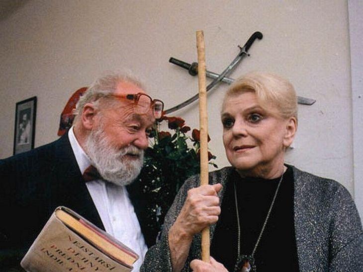 S Luborem Tokošem ve svém posledním filmu Dvojrole