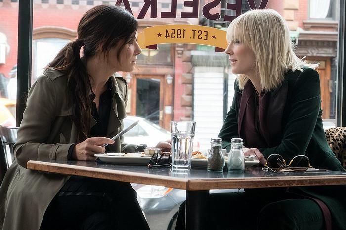 S Cate Blanchett v nejnovější krimi komedii Debbie a její parťačky