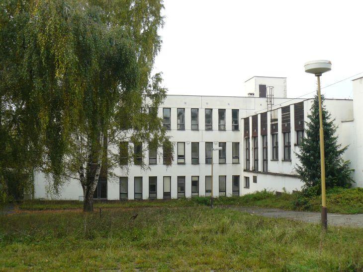 Areál bývalého učiliště v Bzenci