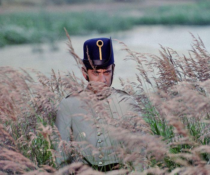 Černý myslivec v Babičce Boženy Němcové, kterou natočil v roce 1971 pro Československou televizi Antonín Moskalyk