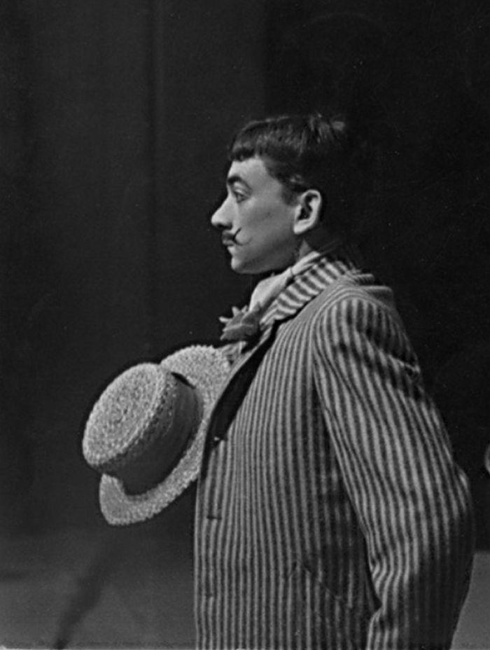 Andreas v lyrické komedii Vítězslava Nezvala Milenci z kiosku – Divadlo Petra Bezruče Ostrava 1962