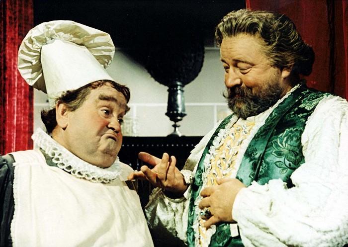 Král Já I. a jeho kuchař v pohádce Byl jednou jeden král