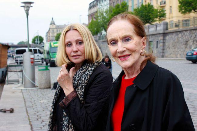 S režisérkou Olgou Sommerovou při natáčení 13. komnaty