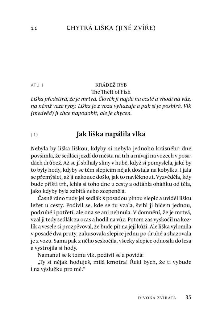 České lidové pohádky I.-Zvířecí pohádky a bajky