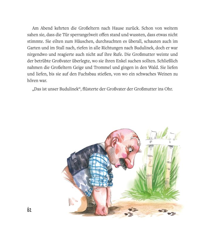České pohádky pro malé děti - německo-české vydání