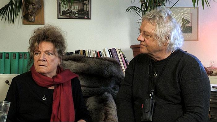 S manželem Stanislavem Milotou v dokumentu režiséra Jana Stehlíka Těžká léta československého filmu