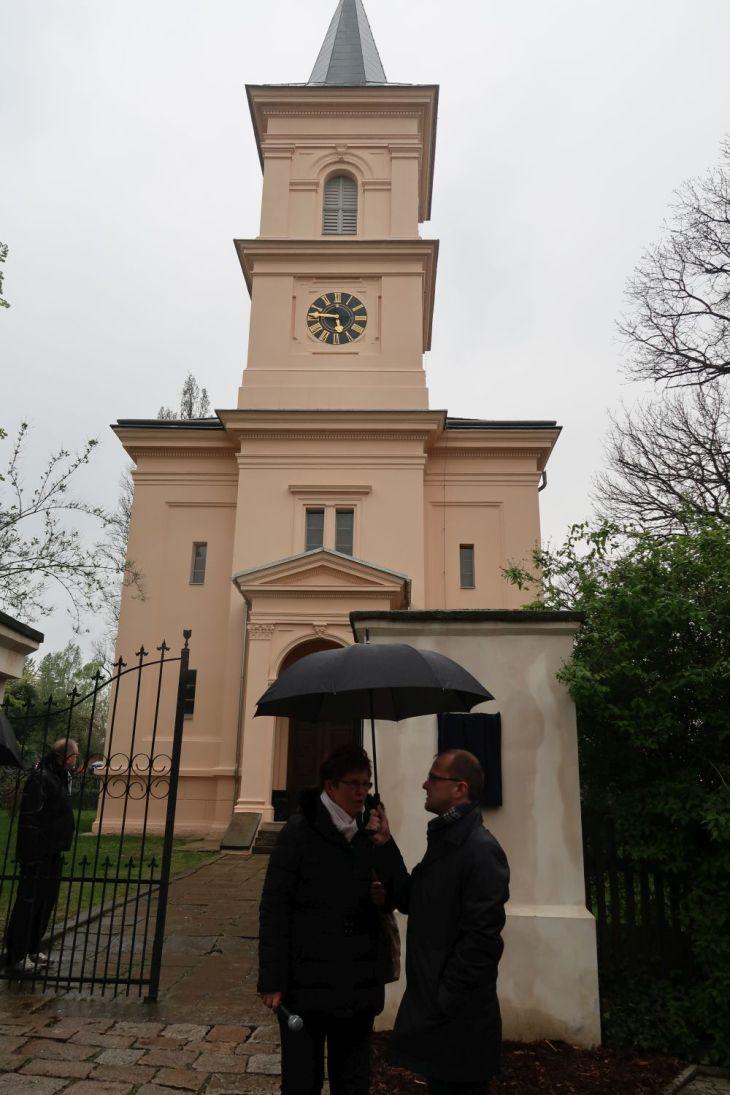 Chvaletice - kostel
