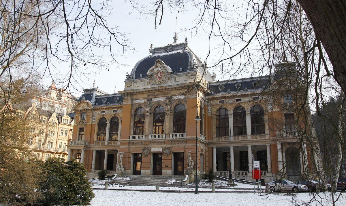 Zanedbané Císařské lázně letos v zimě
