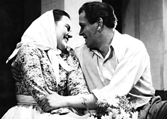 Štěpán v představení Hádajú sa o rozumné – Divadlo pracujících Gottvaldov 1950