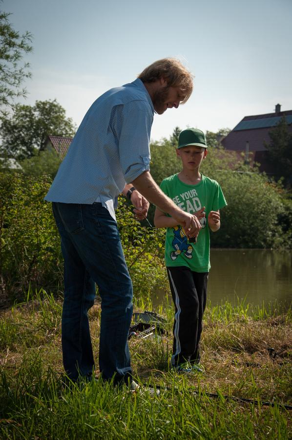 Dětský den rybářských slavností s Jakubem Vágnerem na Katlově