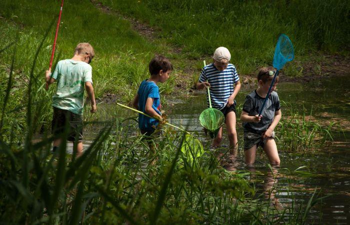 Dětské rybaření v Katlově