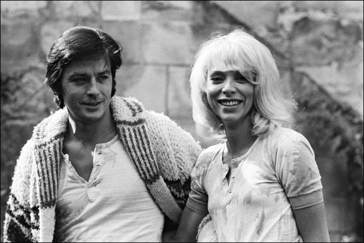 Alan a Mireille v roce 1970