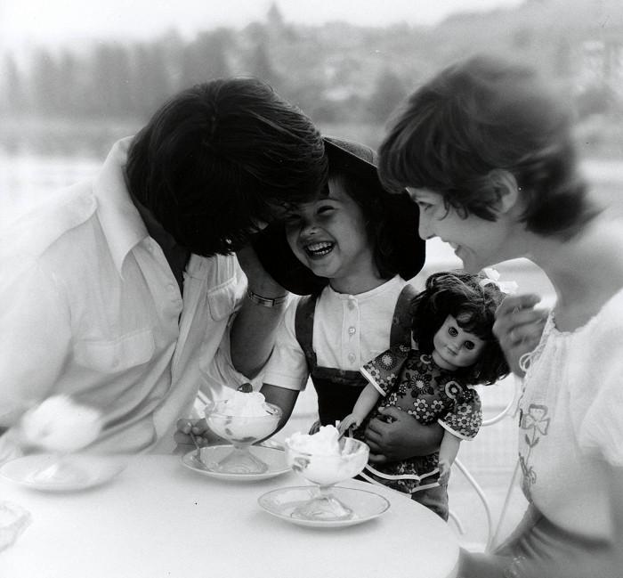 Sylva alias Maruška se svými filmovými rodiči