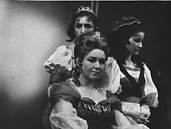 Fanetta z Romaninu v roce 1968 v dramatu Jaroslava Vrchlického Soud lásky