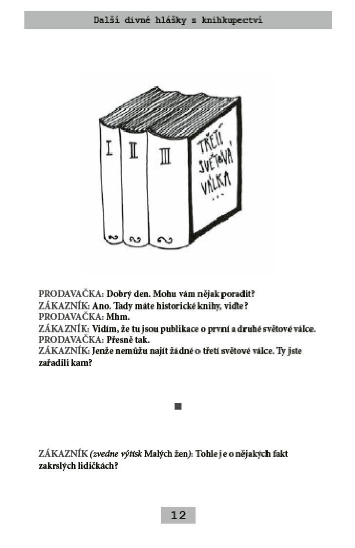 Divné hlášky z knihkupectví 2
