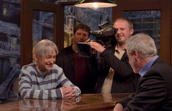 V září 2009 při natáčení pořadu České televize Krásný ztráty