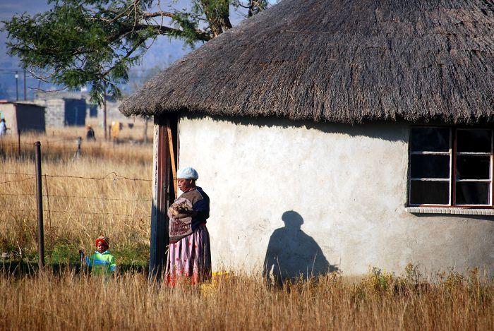 Zulská chýše