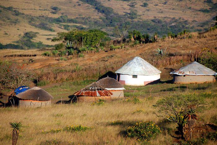 Zulská vesnice