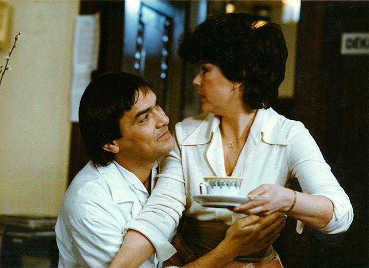 S Janou Kasanovou v jednom ze svých posledních filmů, komedii Samorost