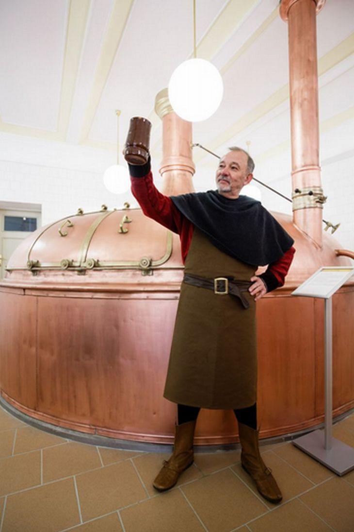 Expozice pivovarnictví