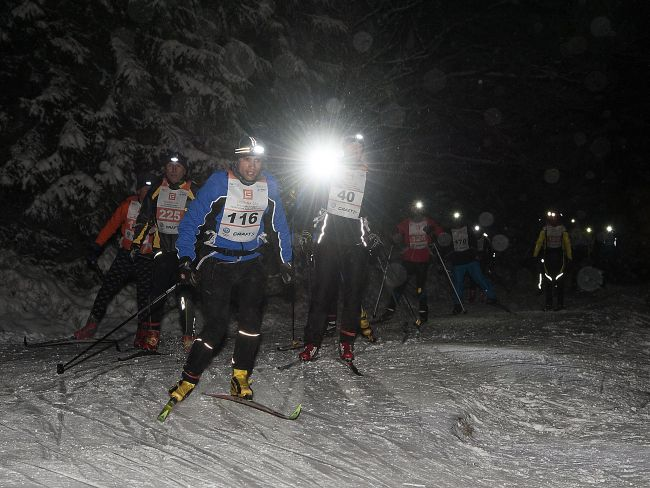 Night Lighr Marathon Bedřichov