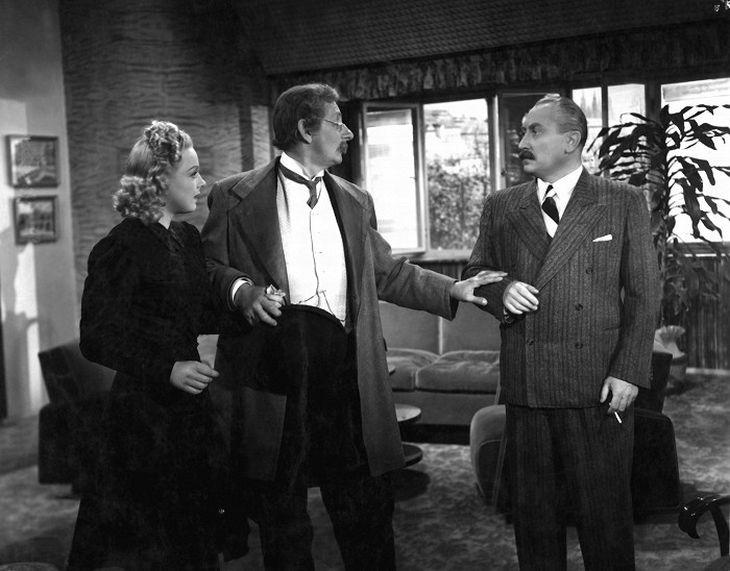 S Vlastou Burianem a Jaroslavem Marvanem v komedii Provdám svou ženu