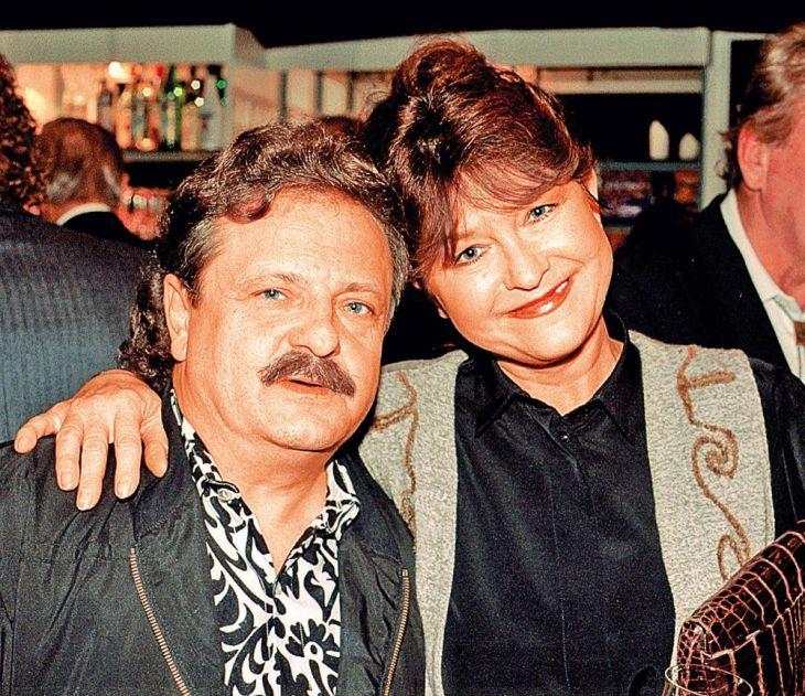 S otcem svých dcer Petrem Spáleným