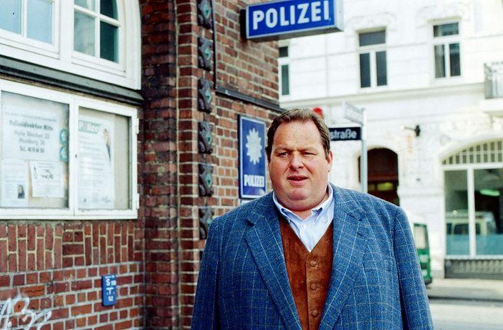Jako svérázný novinář Gottfried Engel v seriálu Pašák
