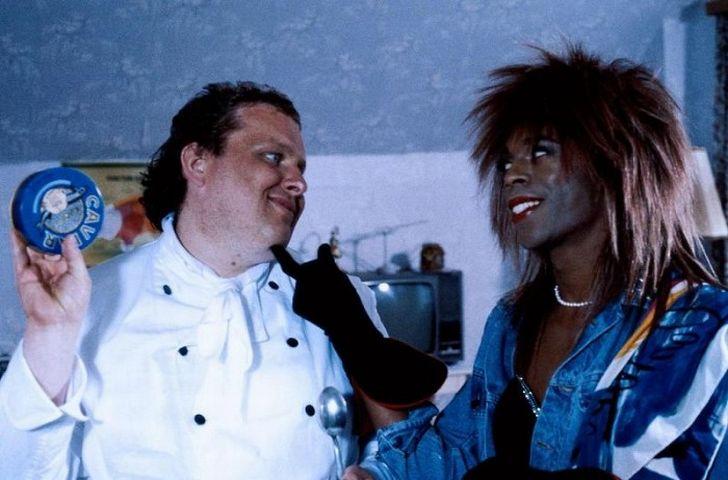 S Michaelem Winslow v komedii Něžní zmatkáři