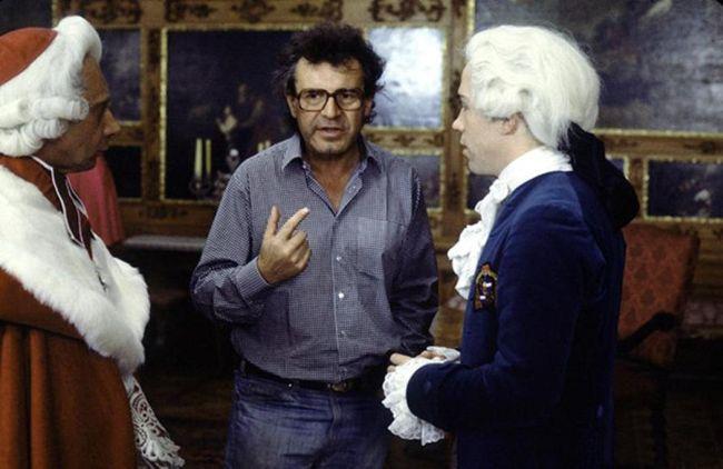 Právě se rodí další Oscar - natáčení hudebního životopisného dramatu Amadeus