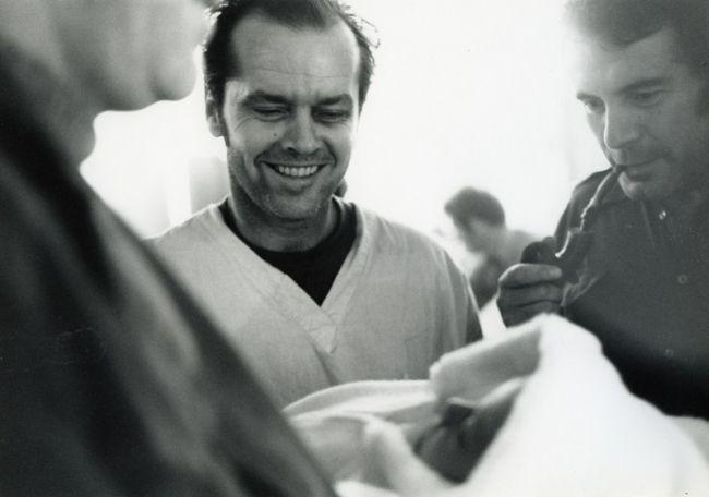 S Jackem Nicholsonem při natáčení oscarového psychologického dramatu Přelet nad kukaččím hnízdem