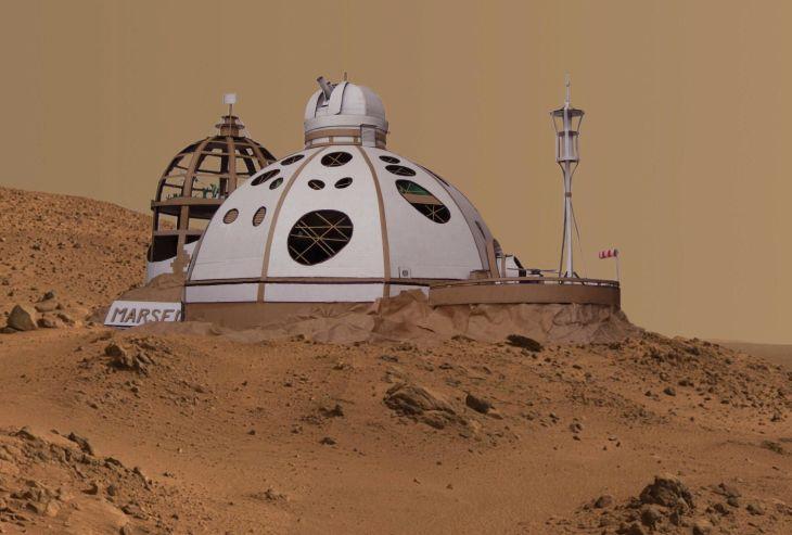 Vítěz roku 2014 - Odloučené pracoviště Mars 1; SPŠS architekta Jana Letzela Náchod
