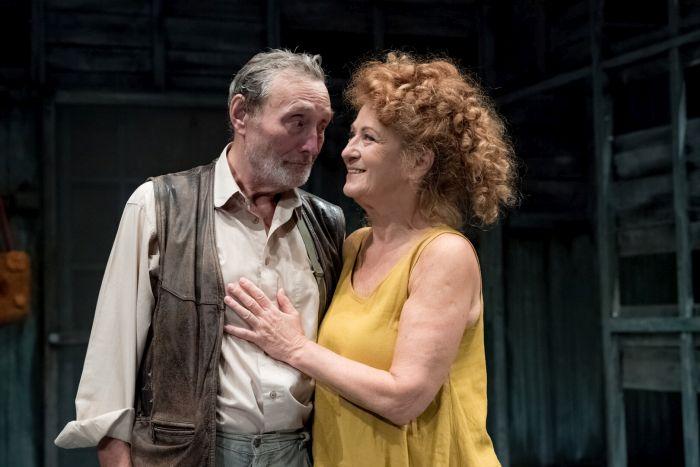 Se Simonou Stašovou v romantické komedii Na zlatém jezeře, o věčně brblajícím, nepraktickém a naschvál i doopravdy zapomínajícím profesorovi v penzi Normanovi a jeho chápající ženě Ethel