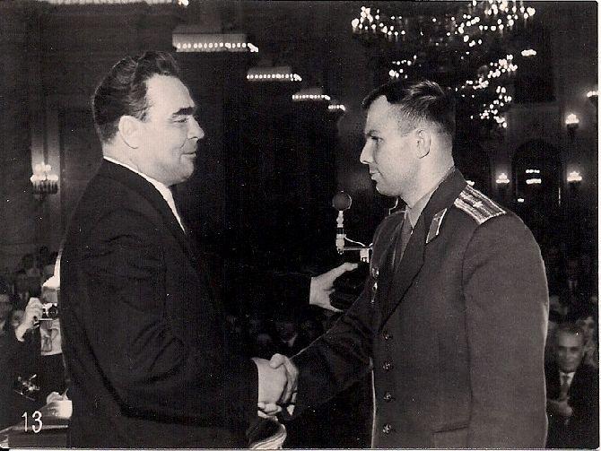 S Leonidem Brežněvem, nejvyšším představitelem Sovětského svazu v letech 1964 až 1982