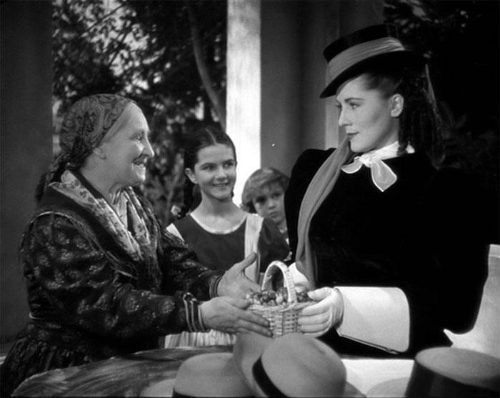 S Terezií Brzkovou ve slavné filmové adaptaci knihy Boženy Němcové Babička