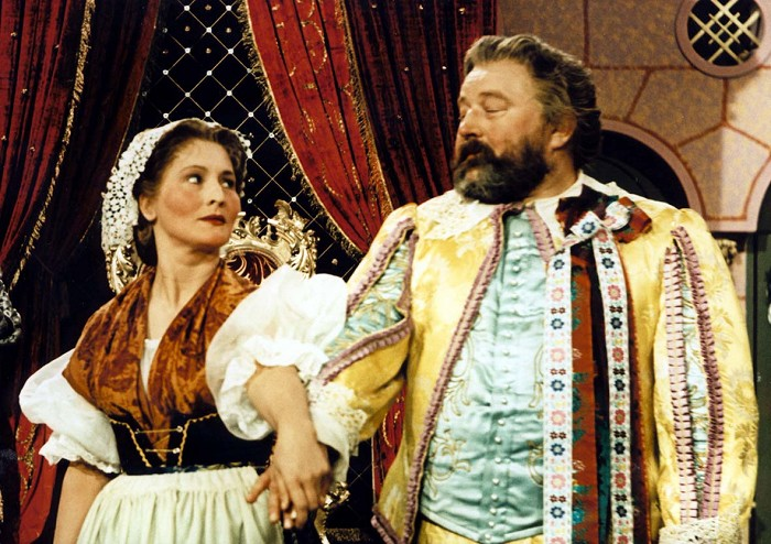 S Janem Werichem v pohádce Byl jednou jeden král