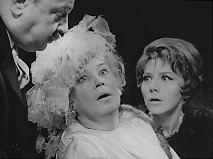 S Danou Syslovou v roce 1966, v představení Divadla Komedie Můj přítel Harvey