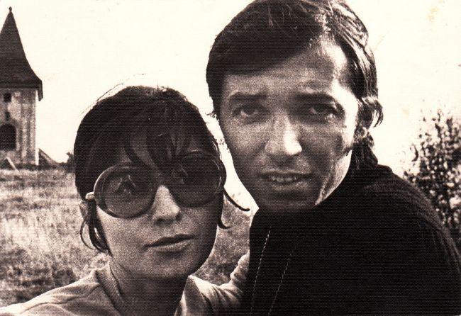 Antonie s Karlem v době, kdy spolu chodili