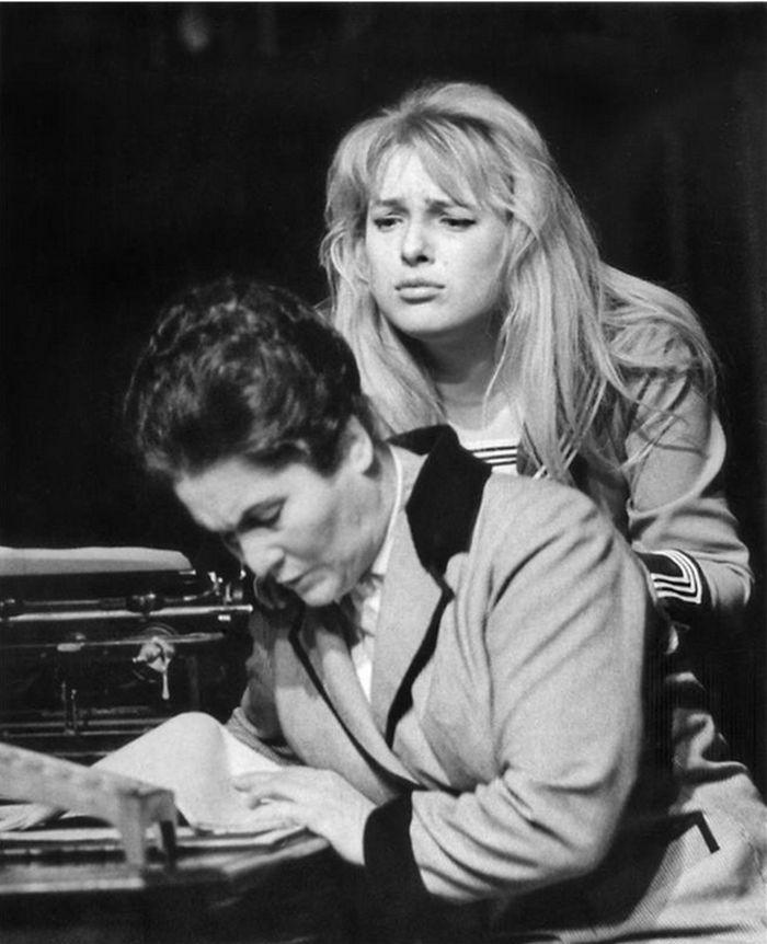 S Marií Glázrovou v dramatu Maxima Gorkého Vassa Železnovová – Národní divadlo 1963