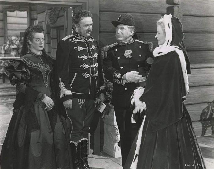 V roce 1947 v americkém westernovém muzikálu Northwest Outpost, k němuž složil hudbu jedinečný český skladatel Rudolf Friml