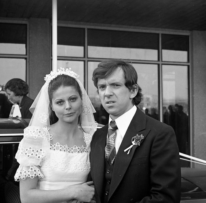 Svatba s Inou (Andreou Čunderlíkovou) v seriálu Nemocnice na kraji města