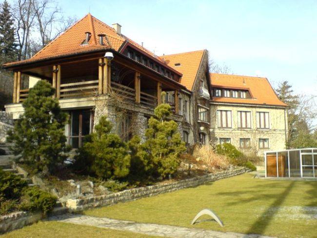 Vila Miloše Havla na Barrandově