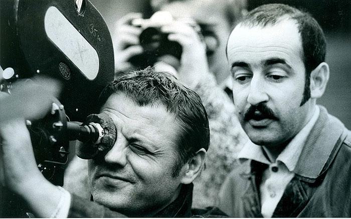 S kameramanem Stanislavem Milotou v dokumentu Zlatá šedesátá