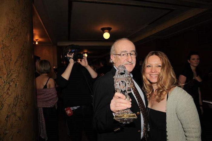 S druhou manželkou Terezou na Českých lvech 2009
