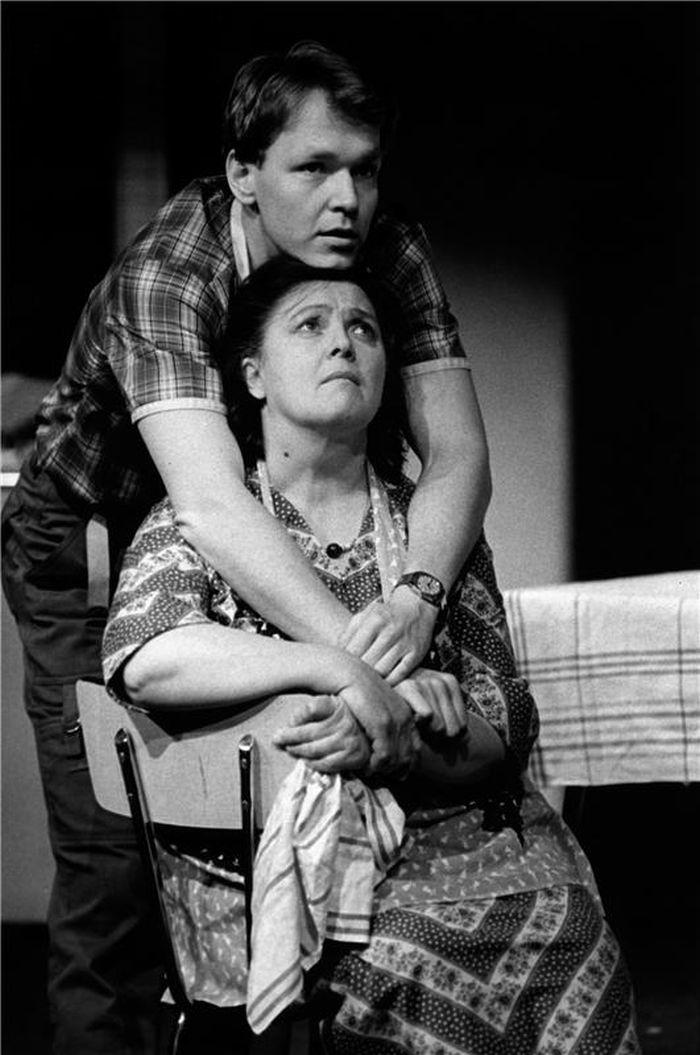 S Markem Vašutem v dramatu slovenského autora Jána Soloviče Meridián – Nová scéna Národního divadla 1985