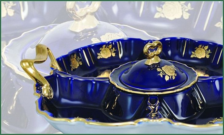 Porcelán z Horního Slavkova