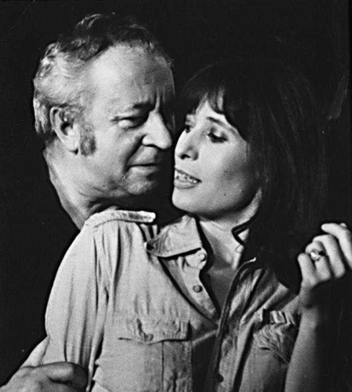 S Monikou Švábovou v roce 1980, v představení plzeňského divadla Setkání s Veronikou