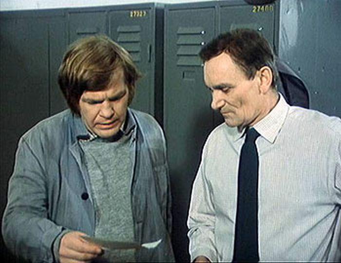 Jako Hora s Václavem Lohniským alias Viktorem Hujerem v komedii Marečku, podejte mi pero!