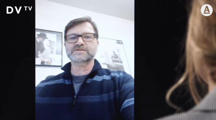 Jan Hrušínský na DVTV